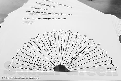 Lost Soul Purpose Pendulum Dowsing Booklet