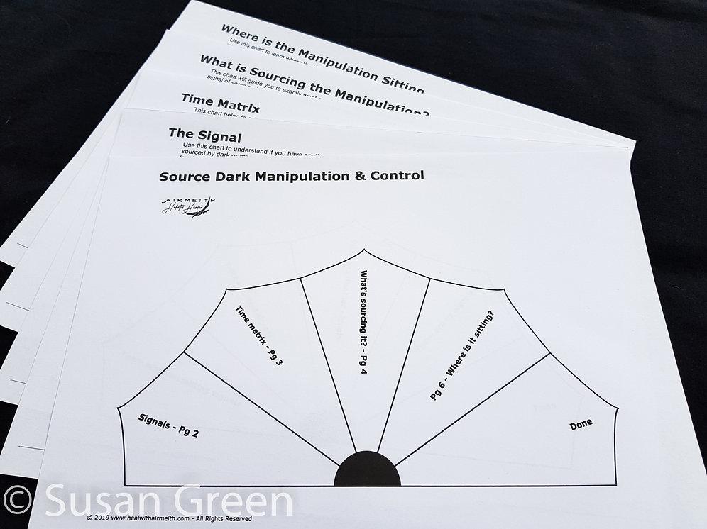 Source & Clear Negative Attack - Pendulum Chart Dowsing