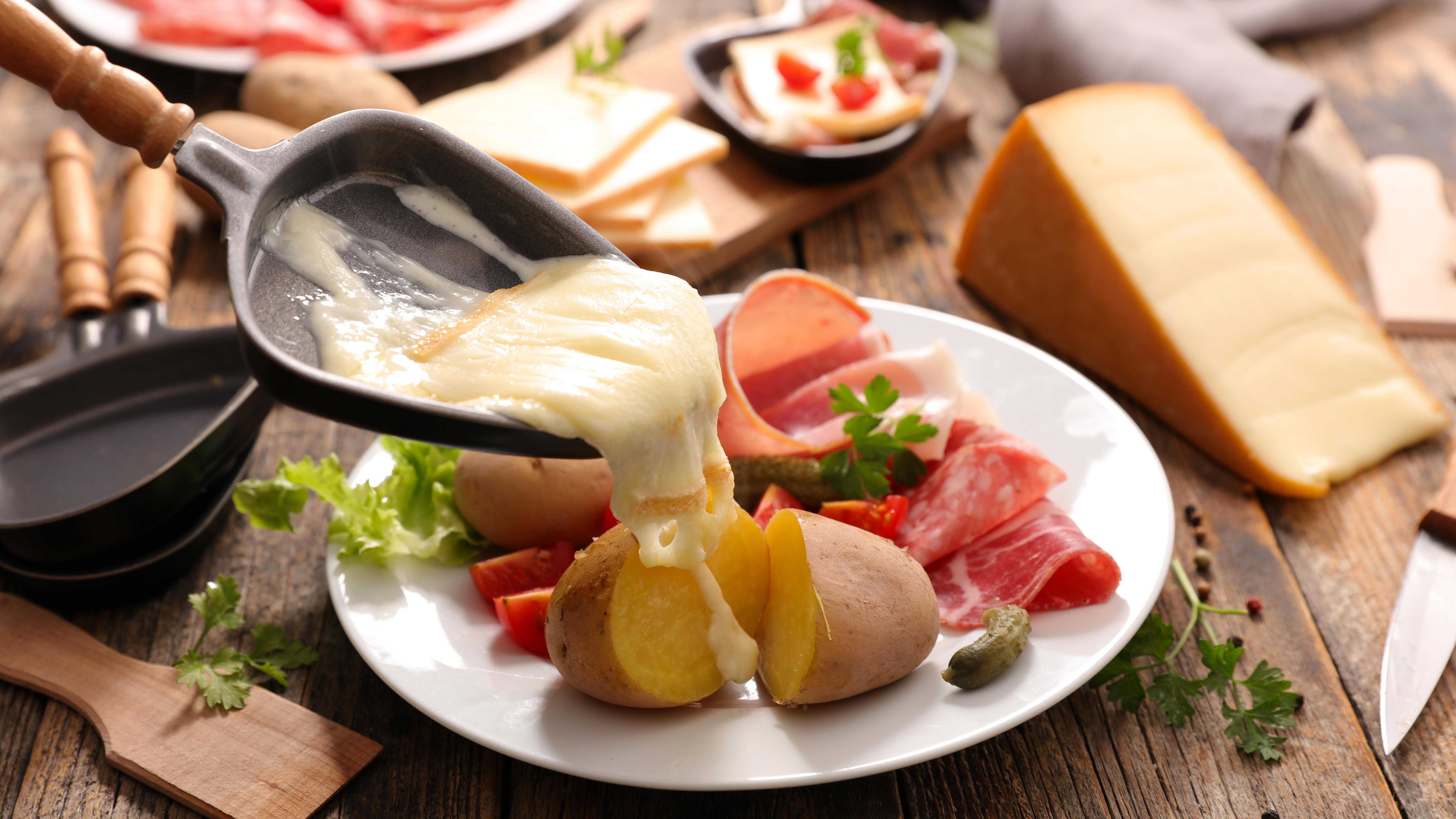 Oh la la! Raclette Cheese Party!