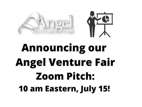 Lambent Data Pitching Virtually during Angel Venture Fair
