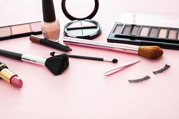 make-up-cosmetics-products-against-pink-