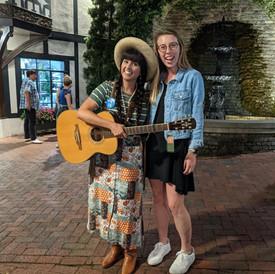 Mary Biediger and Nina Ricci.JPG