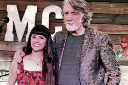 Nina Ricci with John McEuen