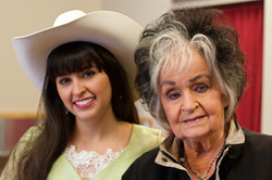 Nina with Joanne Cash Yates