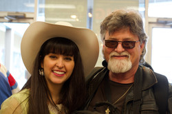Nina with drummer Kevin Kathey