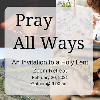 pray all ways