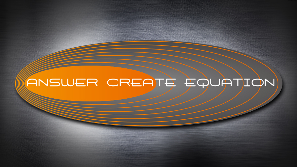 answer create equation