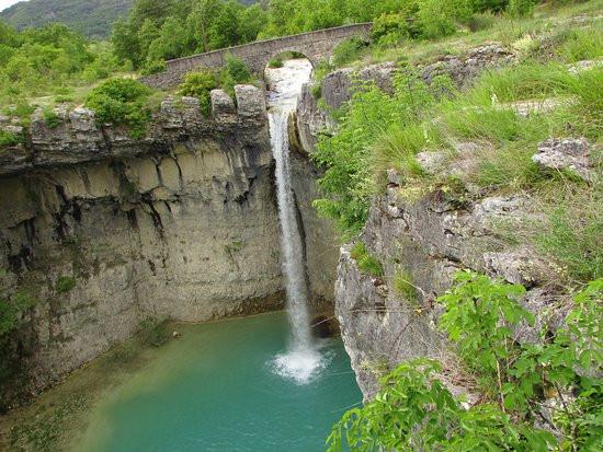 Waterfall Near Gracisce