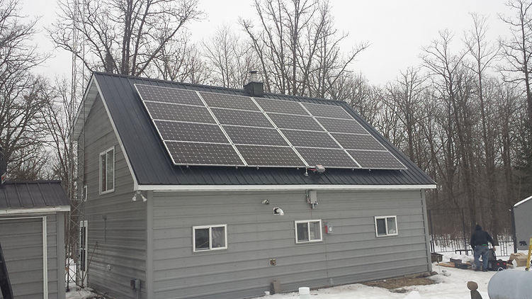 off grid solar central minnesota