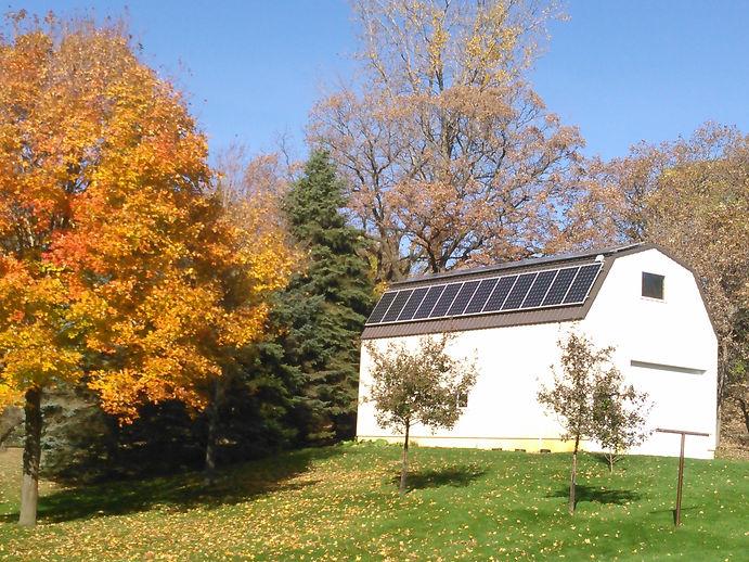 Cold Spring MN Solar Barn