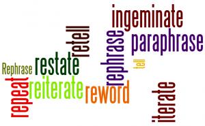 Plagiarize versus Paraphrase, Part 2