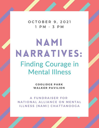 NAMI Chattanooga Narratives save the dat
