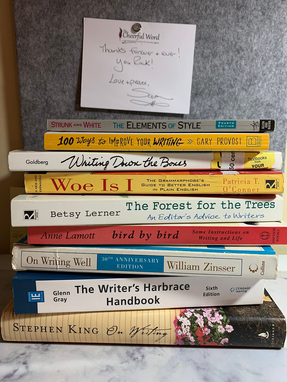 A stack of the books discussed in this article