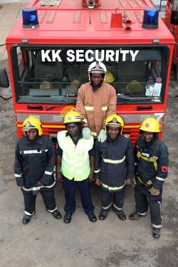 KK Security website and POS