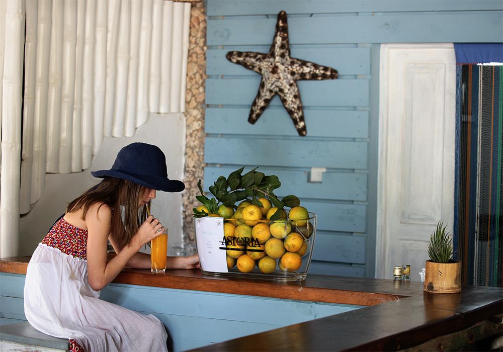 Vipingo Ridge beach bar - website/marketing/billboard