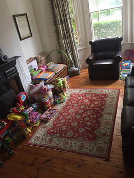 How the sitting room looked before