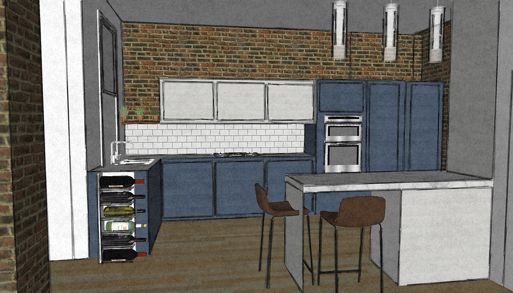 Kitchen interior design renovation