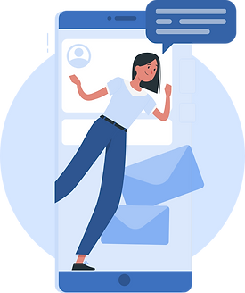illustration-of-woman-sending-messages-with-phone.png