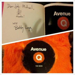 Thank you, Cast of _Avenue Q_! You creat
