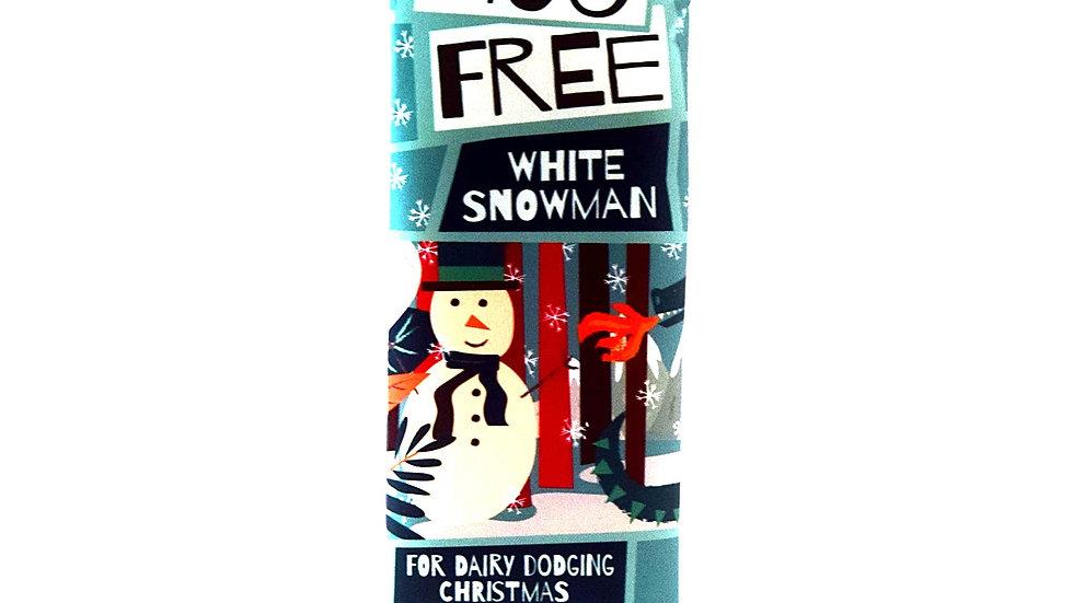 Moo Free White Snowman Bar (32g)