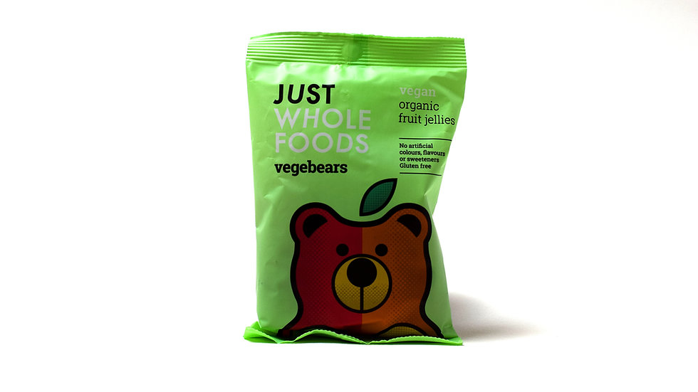 Vegebears Organic Fruit Jellies (100g)
