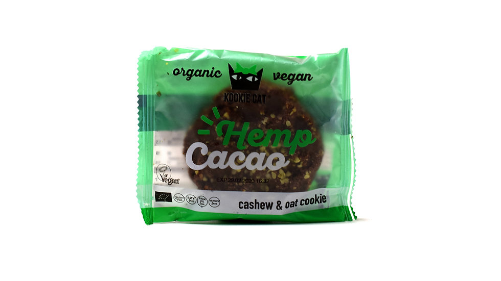 Hemp Cacao Cashew & Oat Cookie