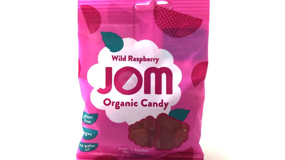 Wild Raspberry Jom Organic Candy (70g)