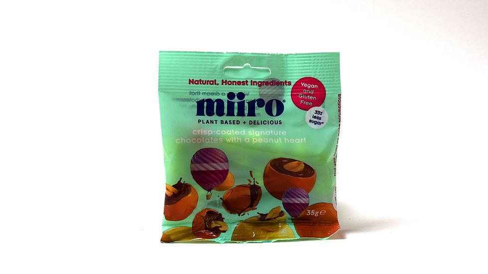 Miiro Crisp Coated Chocolates with a Peanut Heart (35g)