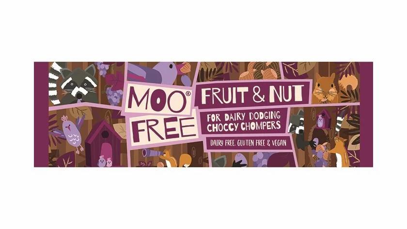 Moo Free Fruit & Nut Bar (35g)
