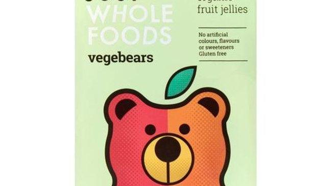Vegebears Organic Fruit Jellies (100g)