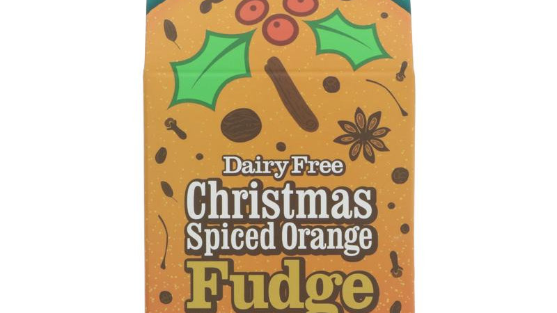 Fabulous Free From Factory Christmas Spiced Orange Fudge
