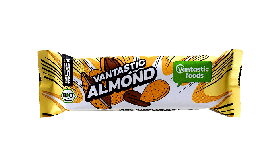 Vantastic White Almond Candy Bar (40g)