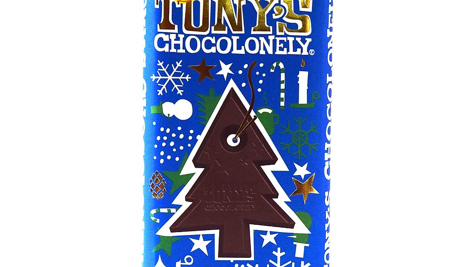 Tony's Chocolonely 51% Dark Chocolate with Candy Cane Pieces (200g)