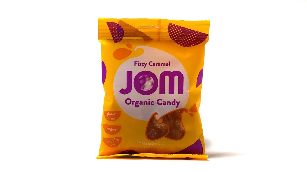 Fizzy Caramel Jom Organic Candy (70g)
