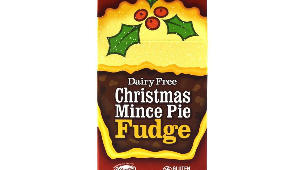 Fabulous Free From Factory Christmas Mince Pie Fudge