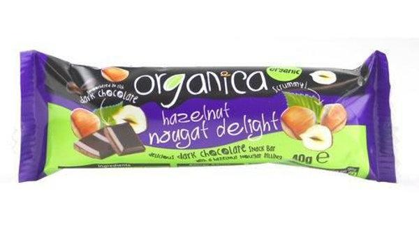 Organica Hazelnut Nougat Delight (40g)