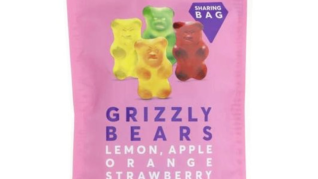 Grizzly Bears Share Bag (125g)