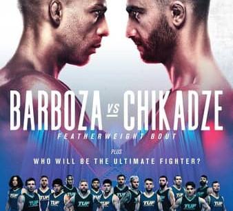 UFC Fight Night: Barboza vs. Chikadze Betting Guide