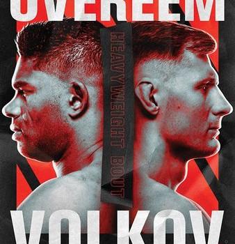UFC Fight Night: Overeem vs. Volkov Predictions