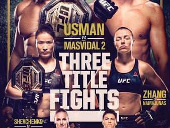 UFC 261: Usman vs. Masvidal 2 Predictions and Fight Picks