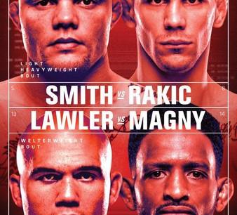 UFC Fight Night: Smith vs. Rakic Gambling Picks
