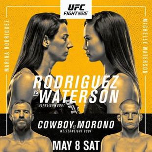UFC Fight Night: Rodriguez vs Waterson Predictions and Fight Picks
