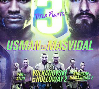 UFC 251: Usman vs. Masvidal Gambling Picks