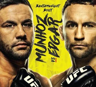 UFC Fight Night: Munhoz vs. Edgar Gambling Picks