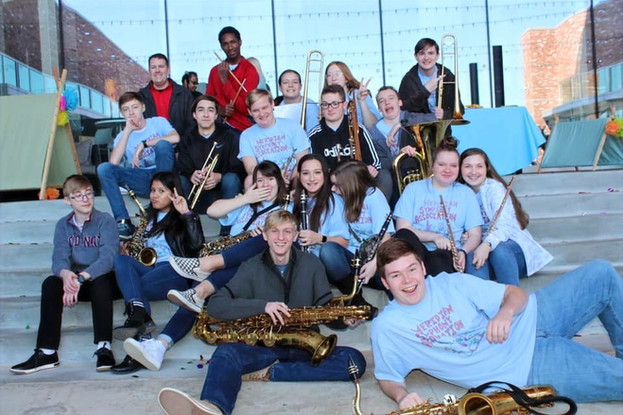 Lauderdale Country Middle/High School Jazz Band