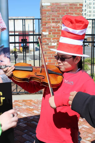 Instrument Zoo at Dr. Seuss Day