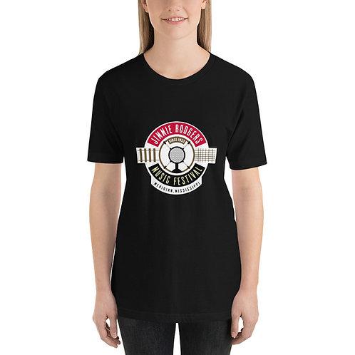 Jimmie Rodgers Music Festival - Short-Sleeve Unisex T-Shirt copy