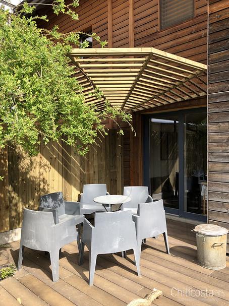 Rénovation complète d'une terrasse