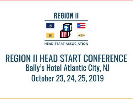 Updated Region II Head Start Conference Dates!