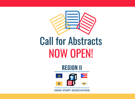 Call for Abstracts for the 2019 Region II Head Start Association Conference is Now Open!